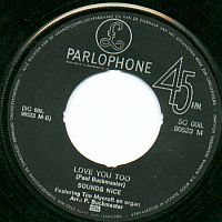 Parlophone 5C006-90523 from 1969